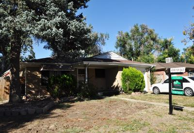 Aurora, Denver Single Family Home Active: 12549 East 31st Avenue