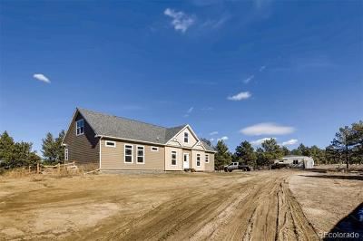 Calhan CO Single Family Home Active: $540,000