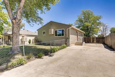 Commerce City Single Family Home Active: 6560 Niagara Street