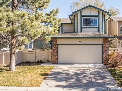 Centennial Condo/Townhouse Under Contract: 1982 East Phillips Drive