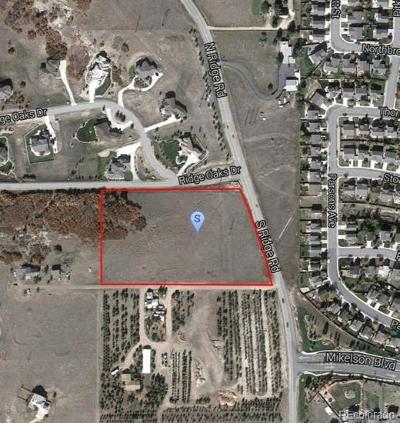 Castle Rock Residential Lots & Land Under Contract: 201 South Ridge Road
