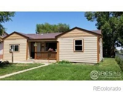 Greeley Single Family Home Active: 1415 5th Street