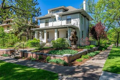 Denver Single Family Home Active: 671 Gaylord Street