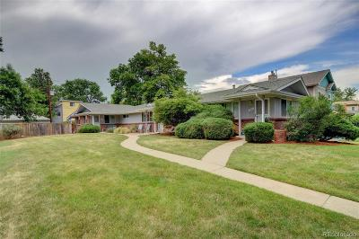 Denver Single Family Home Active: 4431 Osceola Street