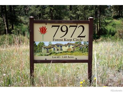 Colorado Golf Club Residential Lots & Land Active: 7972 Forest Keep Circle