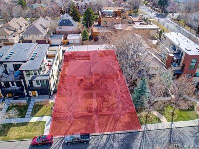 Denver Residential Lots & Land Active: 422 Garfeild Street