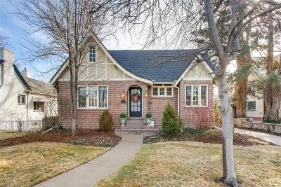 Denver Country Club Single Family Home Active: 446 North Marion Street