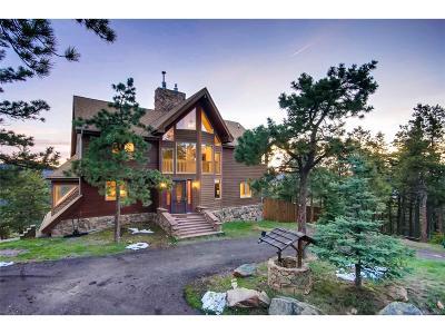 Littleton Single Family Home Active: 14980 Elk Mountain Trail