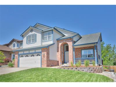 Highlands Ranch Single Family Home Under Contract: 99 Burgundy Drive