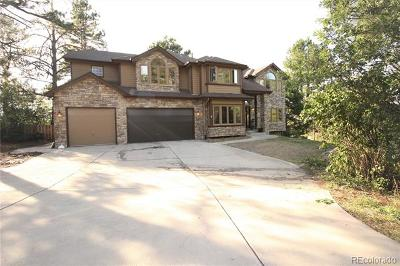 Franktown Single Family Home Active: 7340 Kelty Trail