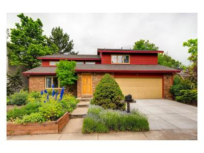 Boulder Single Family Home Under Contract: 2160 Jonathan Place