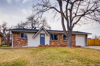 Arvada Single Family Home Under Contract: 5359 Flower Circle