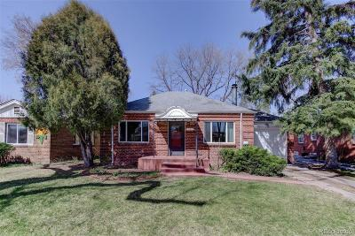 Denver Single Family Home Active: 785 Jersey Street