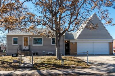 Commerce City Single Family Home Active: 7041 Clermont Street
