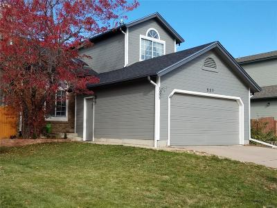 Highlands Ranch Single Family Home Active: 537 James Street