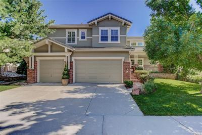 Highlands Ranch Single Family Home Under Contract: 3206 Greensborough Drive