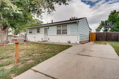 Denver Single Family Home Active: 5568 Troy Street