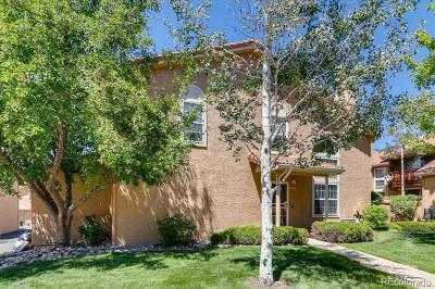 Lone Tree Condo/Townhouse Active: 8795 Mesquite Row