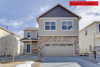 Castle Rock Single Family Home Under Contract: 5983 Sun Mesa Circle