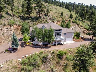 Golden Single Family Home Active: 4756 Crawford Gulch Road