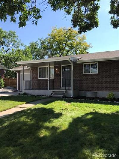 Arvada Single Family Home Active: 6178 Balsam Street