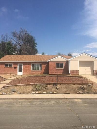 Thornton Single Family Home Under Contract: 1011 Elm Place