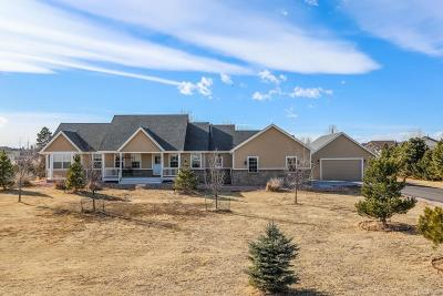 Parker CO Single Family Home Under Contract: $600,000