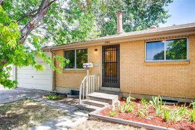 Westminster Single Family Home Under Contract: 8980 Ithaca Way