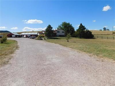Franktown Single Family Home Sold: 1115 North Castlewood Canyon Road