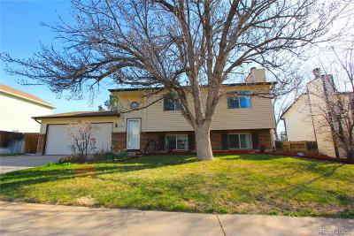 Thornton Single Family Home Under Contract: 10722 Birch Court