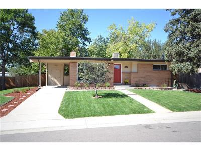 Arvada Single Family Home Active: 6165 Carr Street