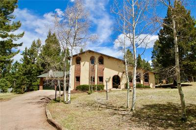 Woodland Park Single Family Home Under Contract: 190 High View Circle