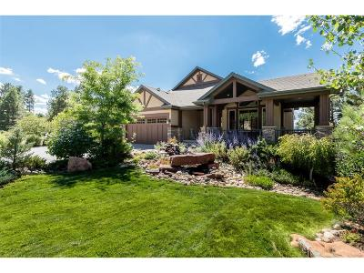 Castle Rock Single Family Home Under Contract: 2568 Saddleback Drive