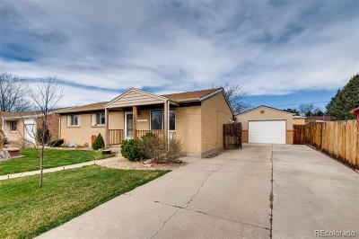 Northglenn Single Family Home Under Contract: 11793 Claude Court