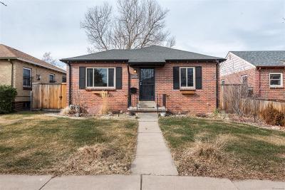 Denver CO Single Family Home Active: $569,500