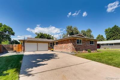Arvada Single Family Home Active: 6435 Parfet Street