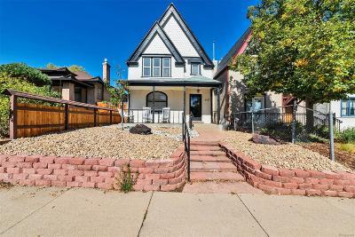Denver Single Family Home Active: 3147 West Denver Place