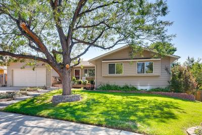 Centennial Single Family Home Active: 6208 East Euclid Avenue
