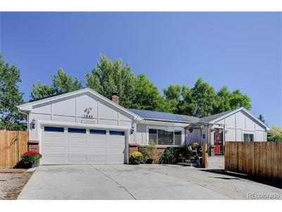 Arvada Single Family Home Active: 7809 West 62nd Avenue