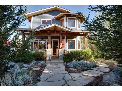Steamboat Springs Single Family Home Under Contract: 14 Logan Avenue