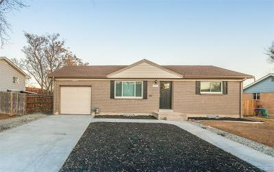 Northglenn Single Family Home Under Contract: 11444 Emerson Street