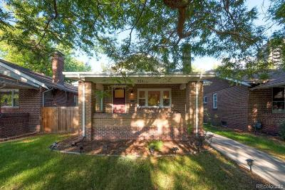 Single Family Home Under Contract: 354 South Downing Street