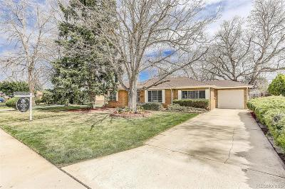 Wheat Ridge Single Family Home Under Contract: 3880 Newland Street