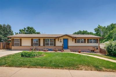 Arvada Single Family Home Under Contract: 7966 Ingalls Street