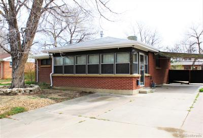 Aurora Single Family Home Active: 3028 Vaughn Street