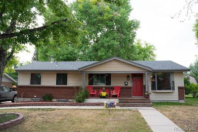 Arvada Single Family Home Active: 8217 Ames Way