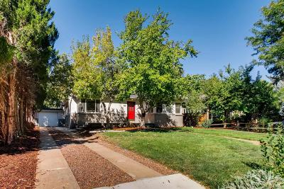 Denver Single Family Home Under Contract: 635 Krameria Street