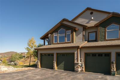 Steamboat Springs CO Condo/Townhouse Active: $635,000