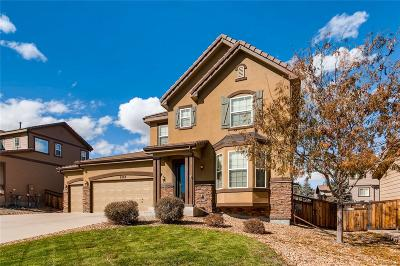Castle Rock Single Family Home Active: 8308 El Jebel Loop