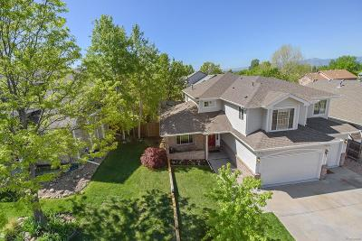Longmont Single Family Home Active: 717 Brookside Drive